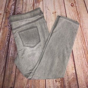 Maurices skinny leg jeggings size 18
